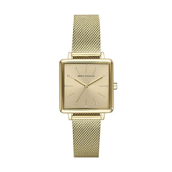 Reloj de Pulsera Armani Exchange - Mujer: Amazon.es: Relojes