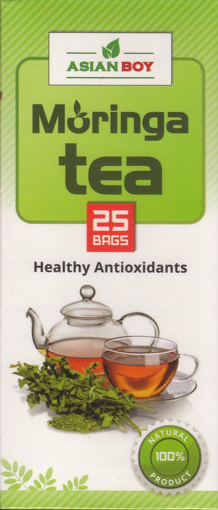 Asian Boy Healthy Antioxidants Tea - 25 Bags (Moringa )