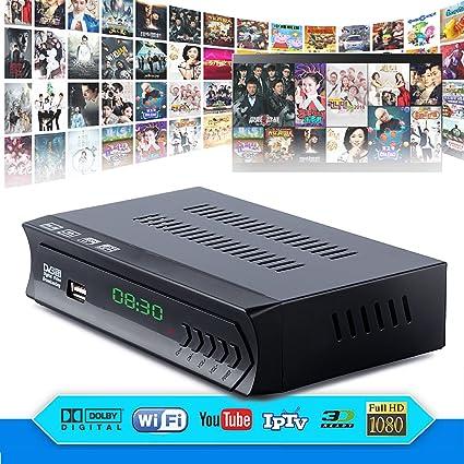 Amazon com: FidgetFidget DVB-S2 Digital Satellite + Wifi IPTV Combo
