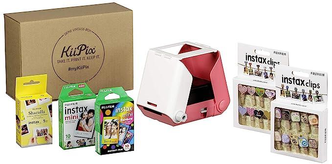 KiiPix Vintage Box - Impresora fotográfica (Incluye Set ...