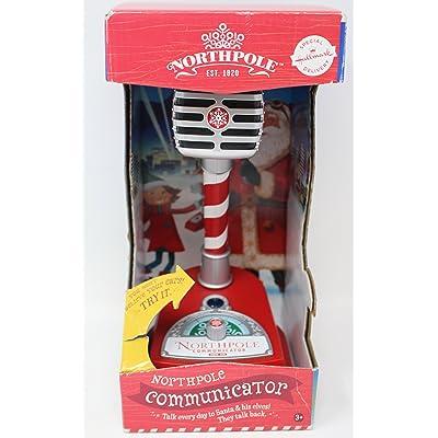 Hallmark 2014 Northpole Communicator Interactive Microphone: Toys & Games