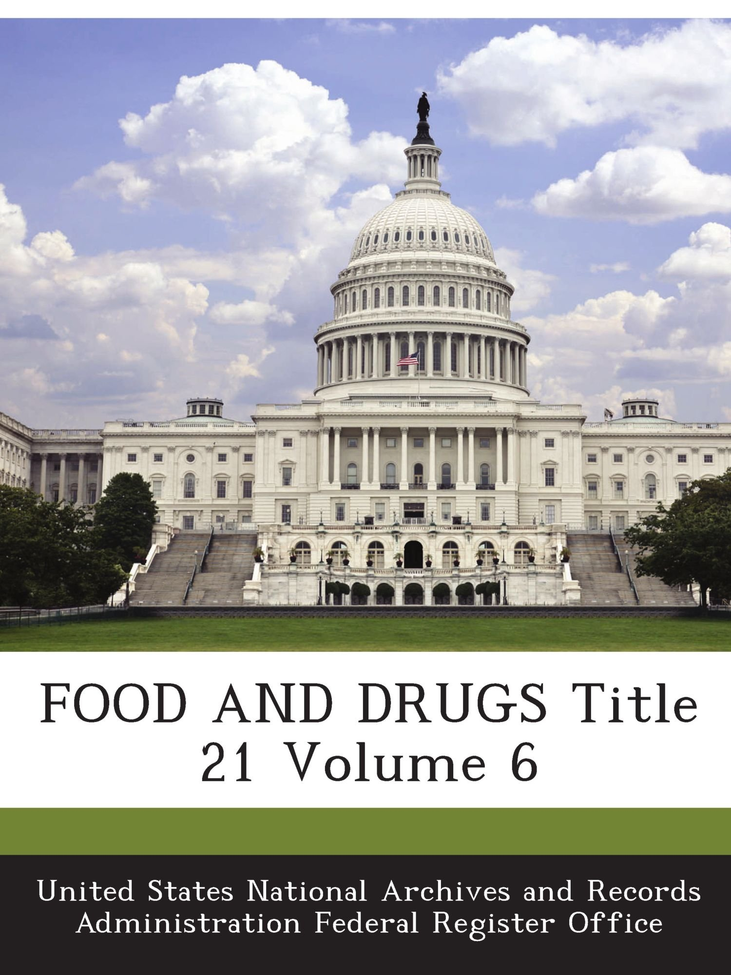FOOD AND DRUGS Title 21 Volume 6 pdf