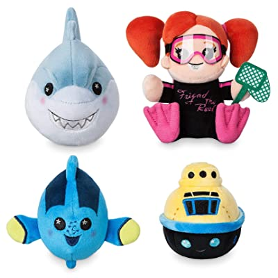 Disney Parks Wishables Mystery Plush - Finding Nemo Submarine Voyage Series: Toys & Games