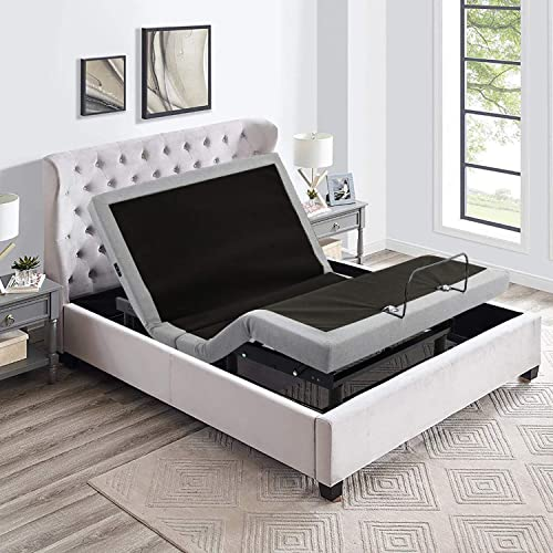 IRVINE HOME COLLECTION Queen Adjustable Bed Base
