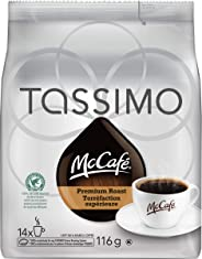 McCafé Premium Roast Medium Dark Tassimo Single Serve T-Discs, 14 Count