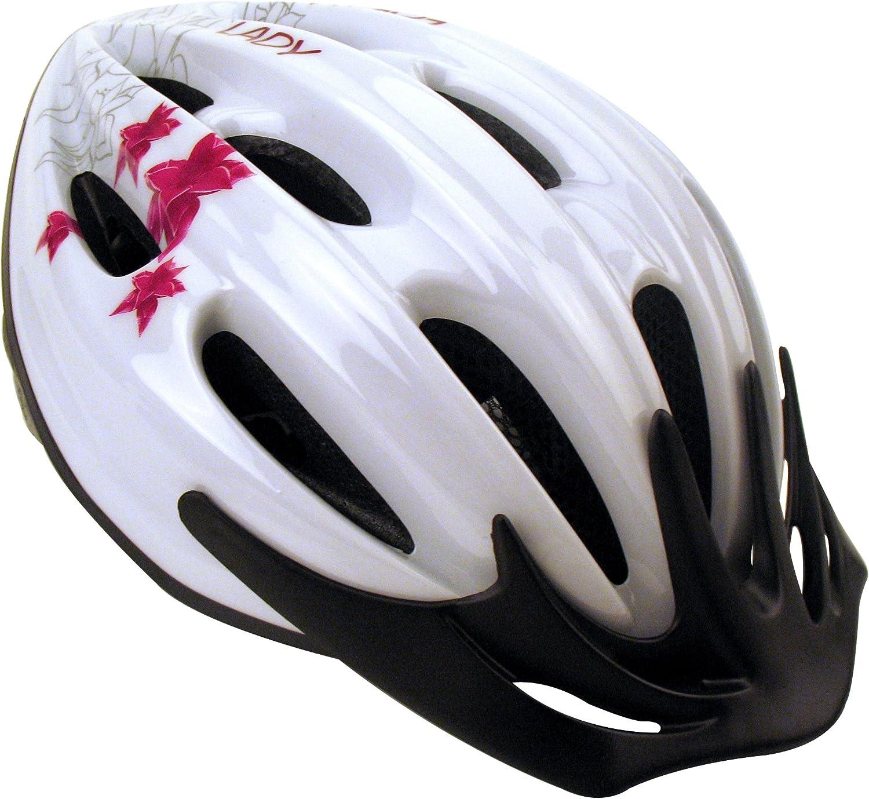Profex - Casco de Bicicleta para Mujer Blanco Blanco Talla:S/M ...