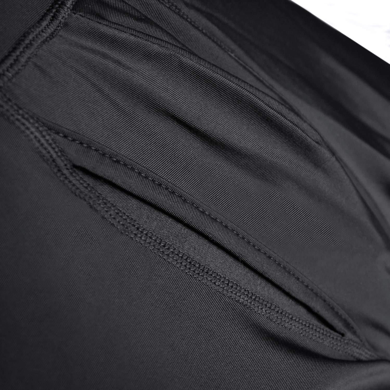 DoLoveY Mens Tummy Shaper High Waist Leg Control Shapewear Waist Slimming Shorts Brief
