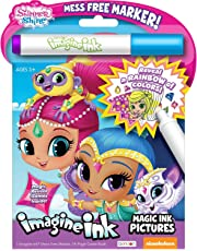 Bendon Imagine Ink Magic Ink Pictures Shimmer and Shine Multi Color