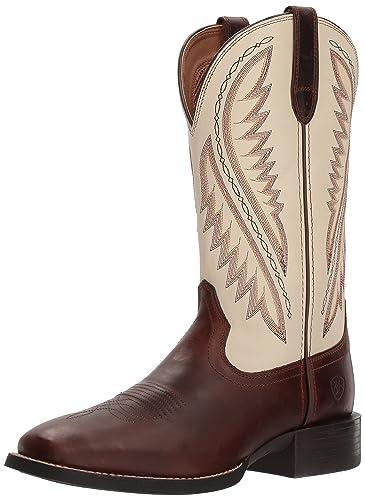 91cf32364 Ariat Men's Sport Stonewall Western Boot, Native Nutmeg/Cream, ...