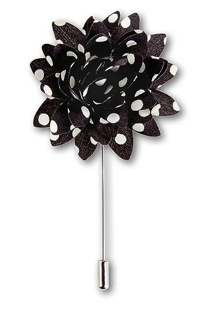 Amazon.com: Para hombre solapa flor hecho a mano Ojal Pin ...