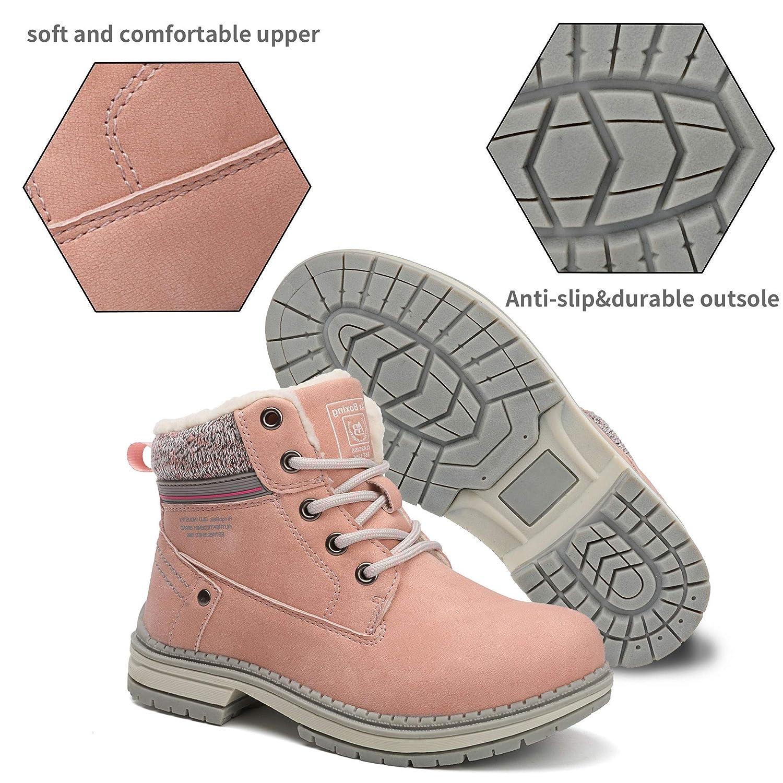 ABTOP Bottes Homme Femme Bottine Bottes de Neige Boots Hiver Chaussures Chaudes Fourrure Randonn/ée Les Loisirs 36-47