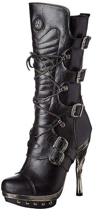 17bbd3f904f New Rock M-punk001-c1, Women's Biker Boots