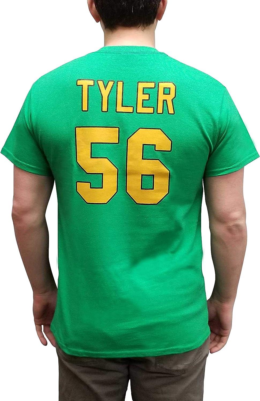 Russ Tyler #56 Mighty Ducks Movie Jersey T-Shirt Knuckle Puck Costume Kenan
