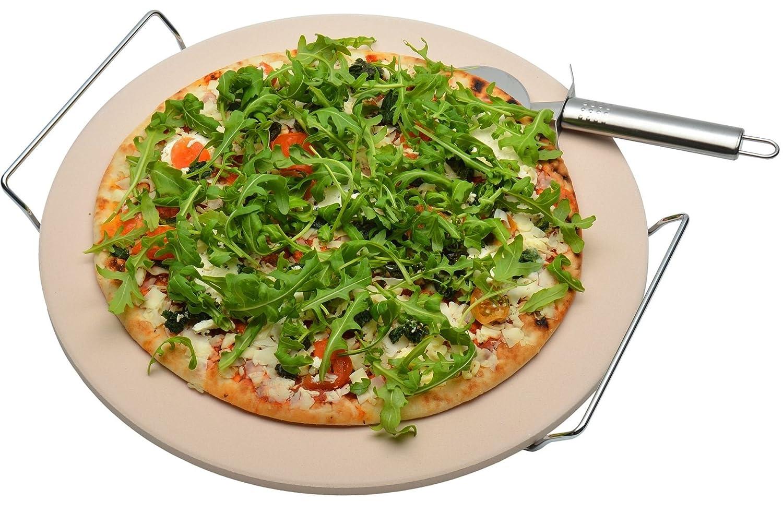 Argon Tableware Pizza Cooking Stone. 32cm / 12.5