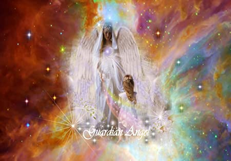 c9e12745b Beautiful Guardian Angel Fantasy Canvas Print Framed: Amazon.co.uk: Kitchen  & Home