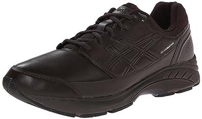 ASICS Men's Gel-Foundation Workplace (4E) Walking Shoe,Dark Brown/Black
