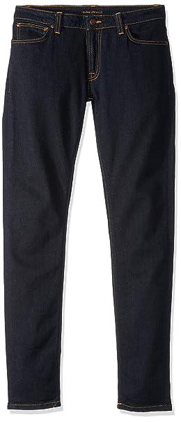 c6813e40e2a9 Nudie Men s Skinny Lin Dry Deep Orange Jeans  Amazon.co.uk  Clothing