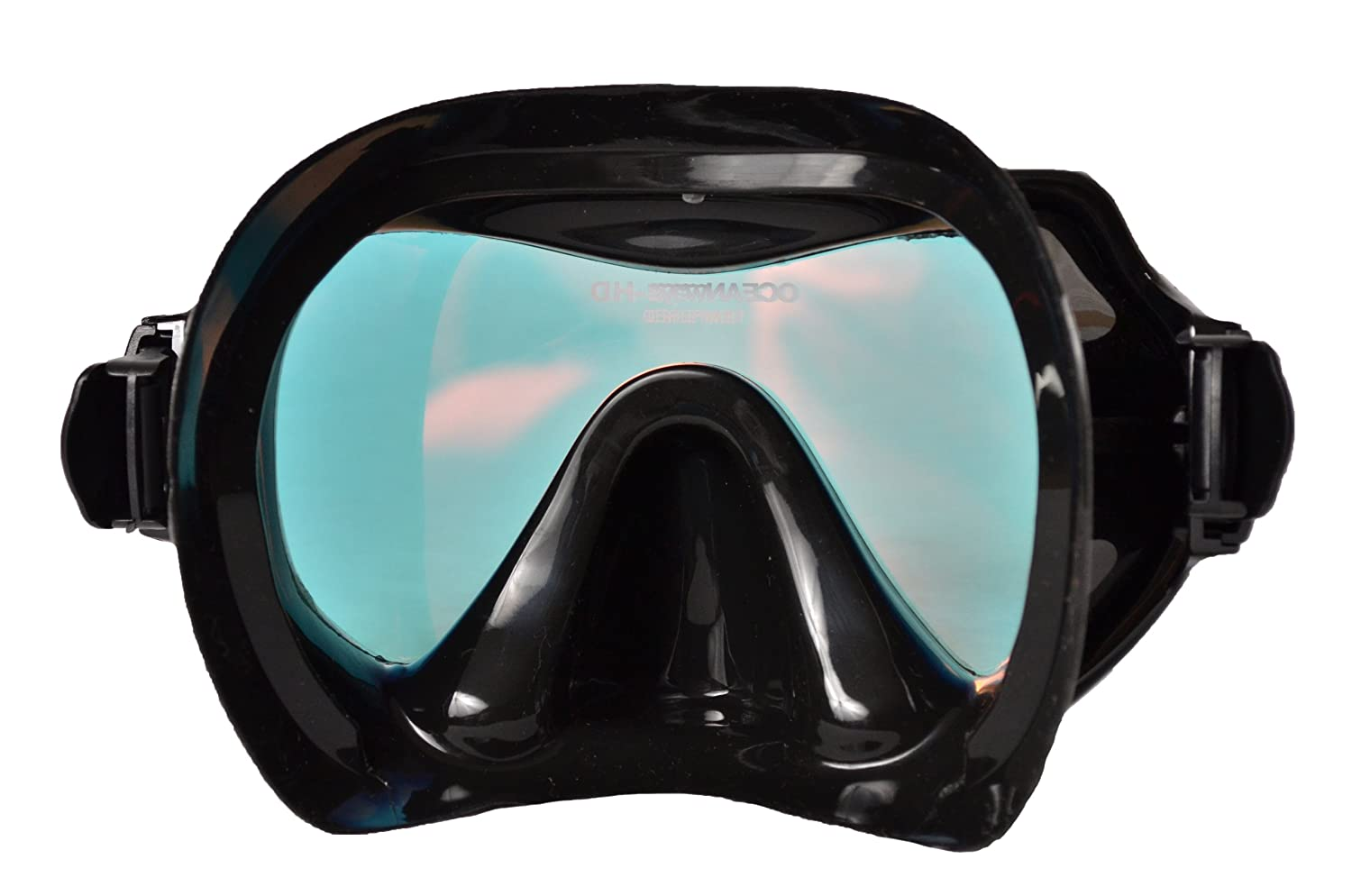 Amazon.com : Oceanways Superview-HD w/ Anti-UV/Glare Optical Multicoating w/ Anti-Fog Scuba/Spearfishing Dive Mask (OM940BKSFF) by SeaDive : Swimming  Goggles ...