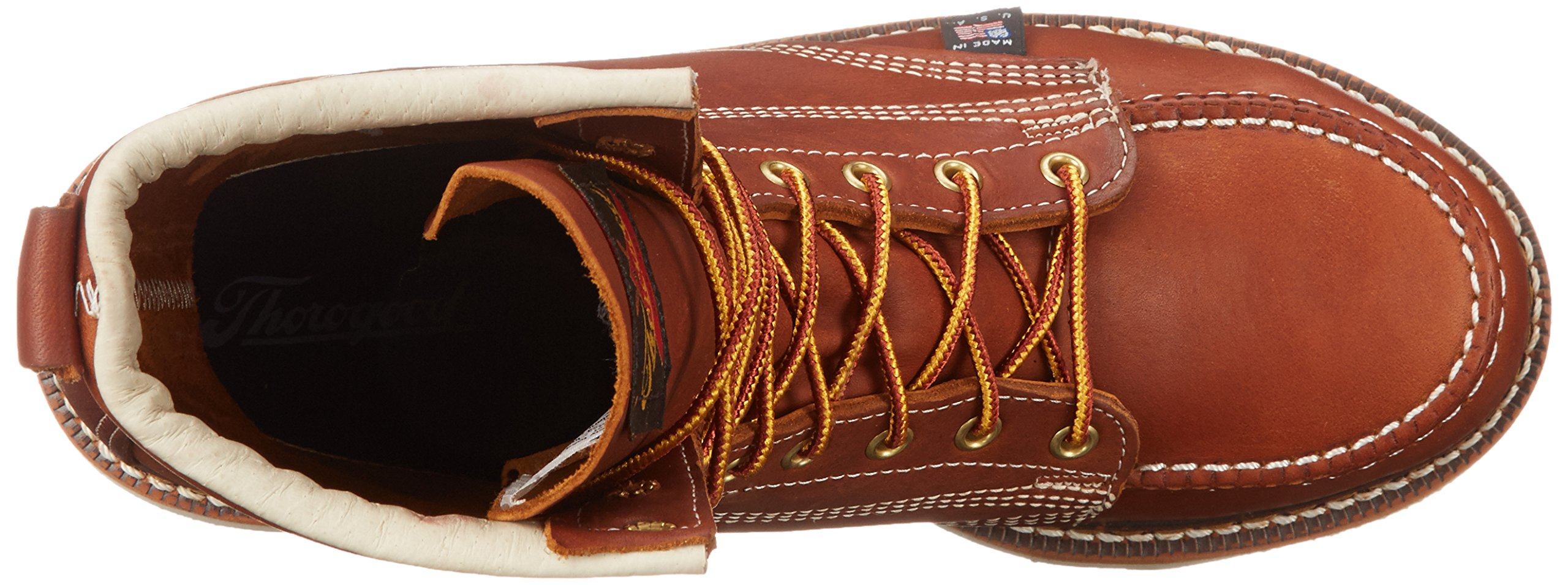 Thorogood Heritage 8'' Safety Toe Work Boot, Tobacco Oil Tanned, 10 EE US by Thorogood (Image #8)