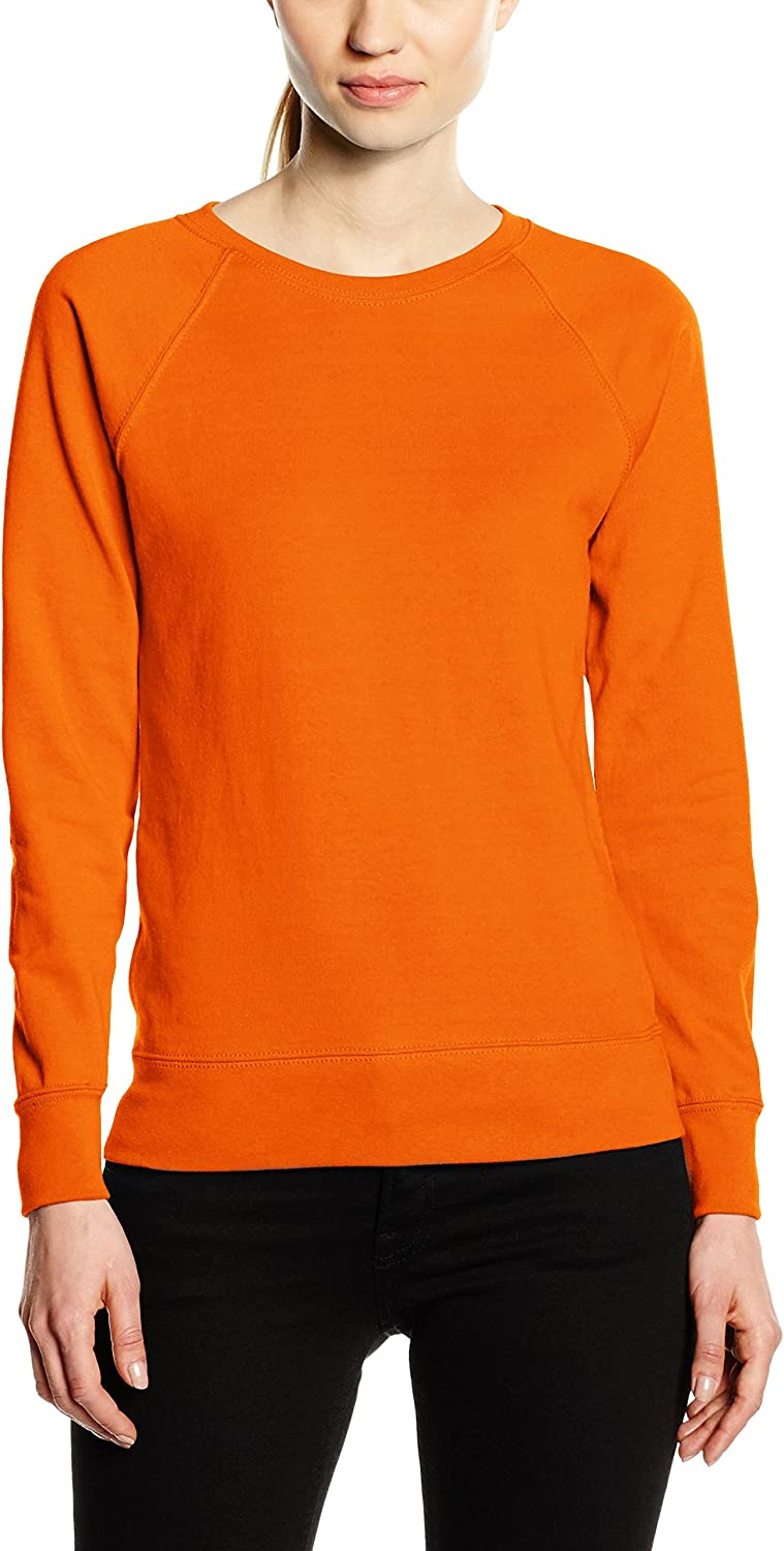TALLA XS. Fruit of the Loom Sudadera para Mujer