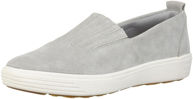 Skechers Women's Comfort Europa-Gored Slip Skech-Air Midsole and Classic Fit Sneaker B079JXFCVF 5.5 B(M) US|Gray