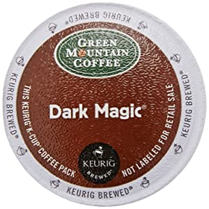 GREEN MOUNTAIN COFFEE Dark Magic K-Cup Coffee Pods 12Ct, 4.8 OZ