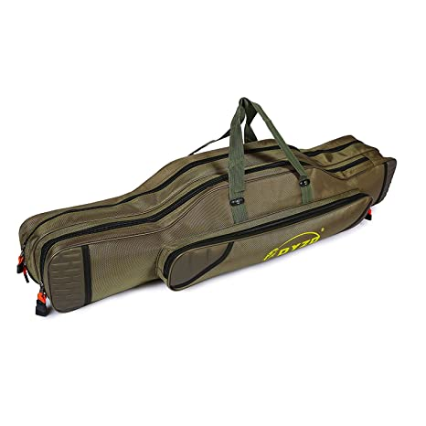 Security & Protection Lixada Fishing Pole Gear Tackle Storage Bag Fishing Rod And Reel Travel Carry Case Bag Portable Fishing Bag Case Organizer Low Price