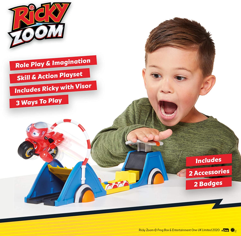 Multi Ricky Zoom T20049A Speed /& Stunt Playset