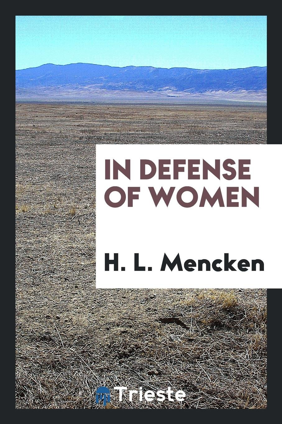 Download In defense of women PDF