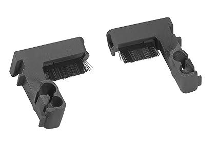 Cepillos para ruedas GARDENA: limpieza duradera de las ruedas de su robot cortacésped, compatibles