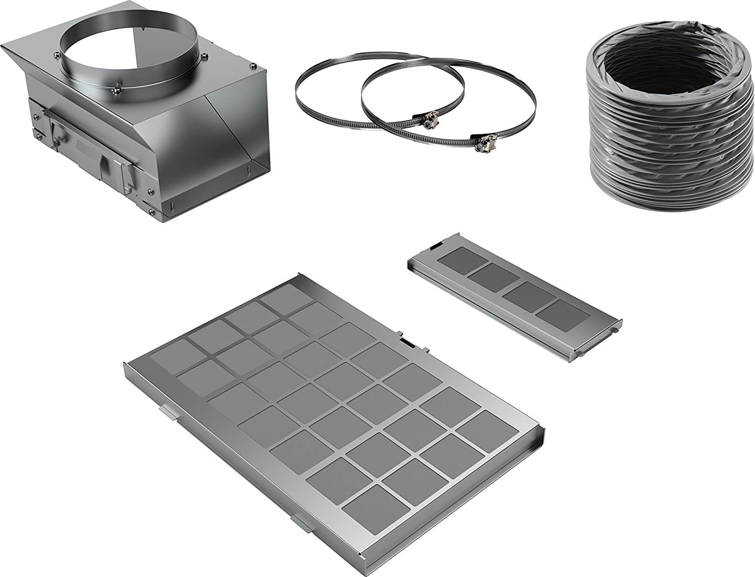 Siemens lz10aks00/Accessory for Stove Bell/ /Accessory for Fireplace Recycling Kit, Siemens, Black, Grey