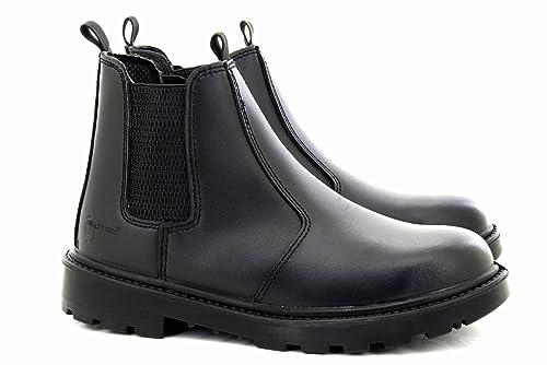 Grafters - Calzado de protección para hombre negro negro 6 UK, color marrón, talla 13 UK