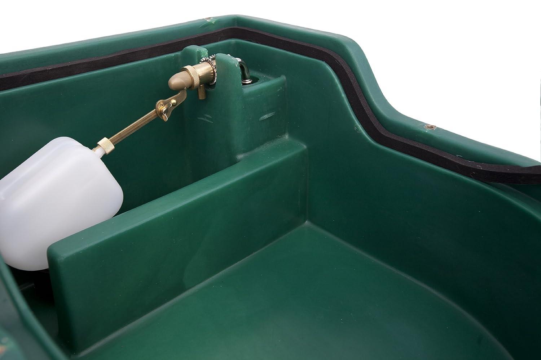 Isoliertes Tr/änkebecken mit einer Trink/öffnung 25 Liter f/ür Pferde Schafe oder Ziegen Gro/ßvieh