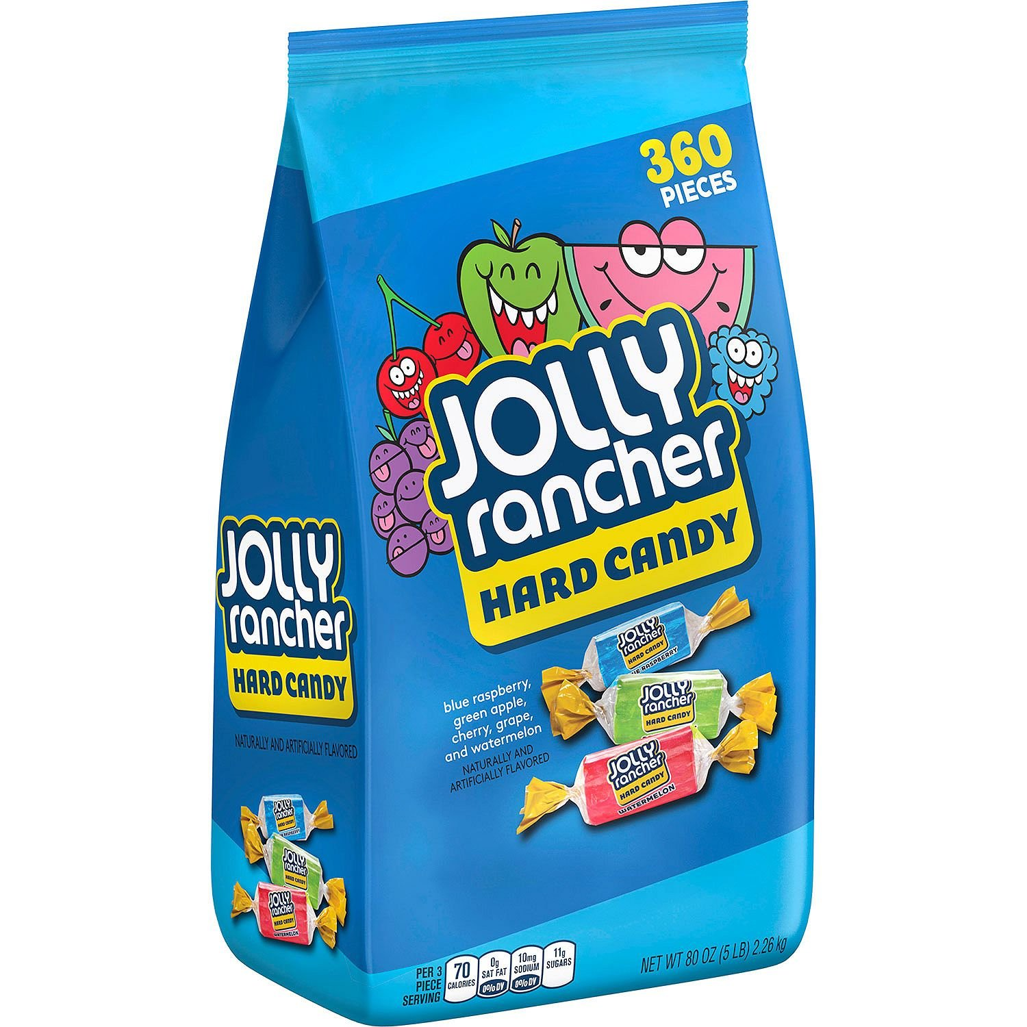 Amazon.com : JOLLY RANCHER Hard Candy, Bulk Halloween Candy, 5 ...