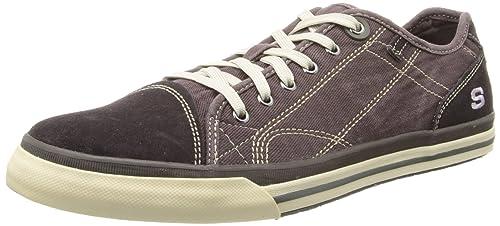 Skechers Diamondback Levon, scarpe oxford da uomo, Marrone (Braun (CHNT)), 41