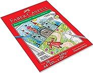 Bloco Max Desenho 140g 20 Folhas, Faber-Castell, Mista, A4, Pacote de 1
