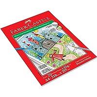 Faber-Castell BLCDES/A4, Bloco Max Desenho Mista A4, 20 Folhas