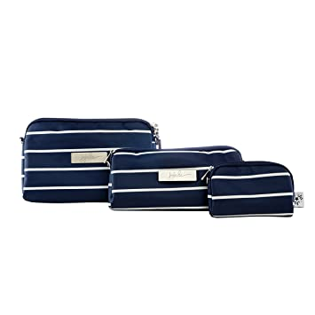 JuJuBe Be Set Travel Accessory Bags, Coastal Collection - Nantucket