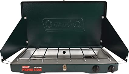 Coleman Gas Camping Stove Classic Propane Stove 2 Burner 4 1 X 21 9 X 13 7 Inches Sports Outdoors