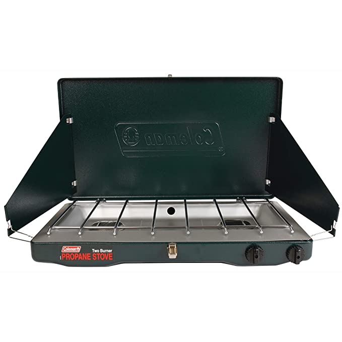 Coleman Gas Stove | Portable Propane Gas Classic Camp Stove with 2 Burners best camp stoves