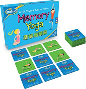Think Fun Memory Yoga Action Game