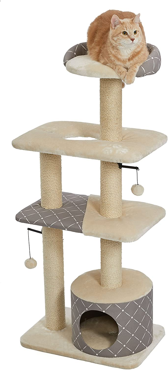 MidWest Homes for Pets Cat Tree Scratching Furniture Wrapped Sisal Pet supplies