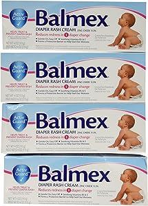 Balmex Diaper Rash Cream, 4 Count