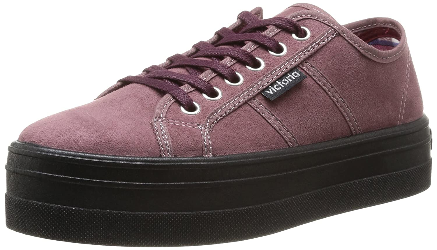 Victoria Blucher mode Antelina Plataforma, Baskets mode Baskets Blucher femme Violet (Prune) ec206a0 - robotanarchy.space