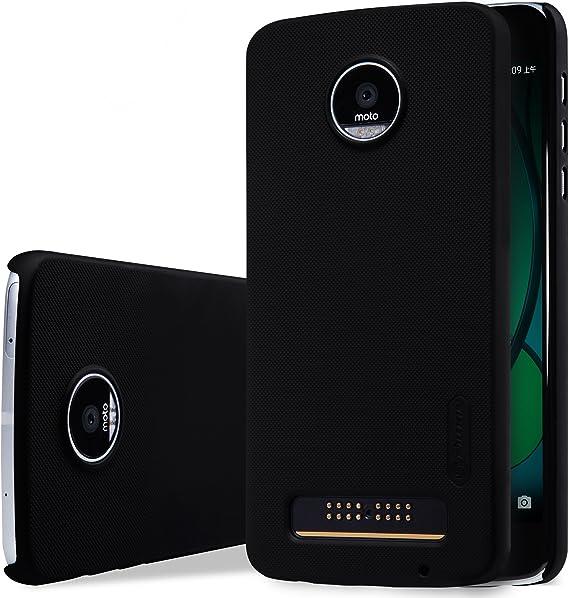 SMTR Moto Z Play Funda, Cubierta Slim Armor Funda +1 film Protector de pantalla para Moto Z Play Smartphone,(negro): Amazon.es: Electrónica