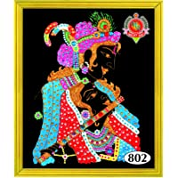 Asian Hobby Crafts ASNHC1303_B Divya Ratan Painting DIY Kit (16x22-inch)