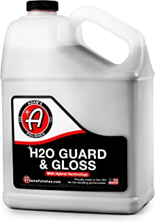 product image for Adam's H2O Guard & Gloss - Revolutionary Hybrid Top Coat Technology Combines Silica Sealant, Polish Wax, and Quick Detailer Technology - Seals, Shines, and Protects All Exterior Surfaces (1 Gallon)