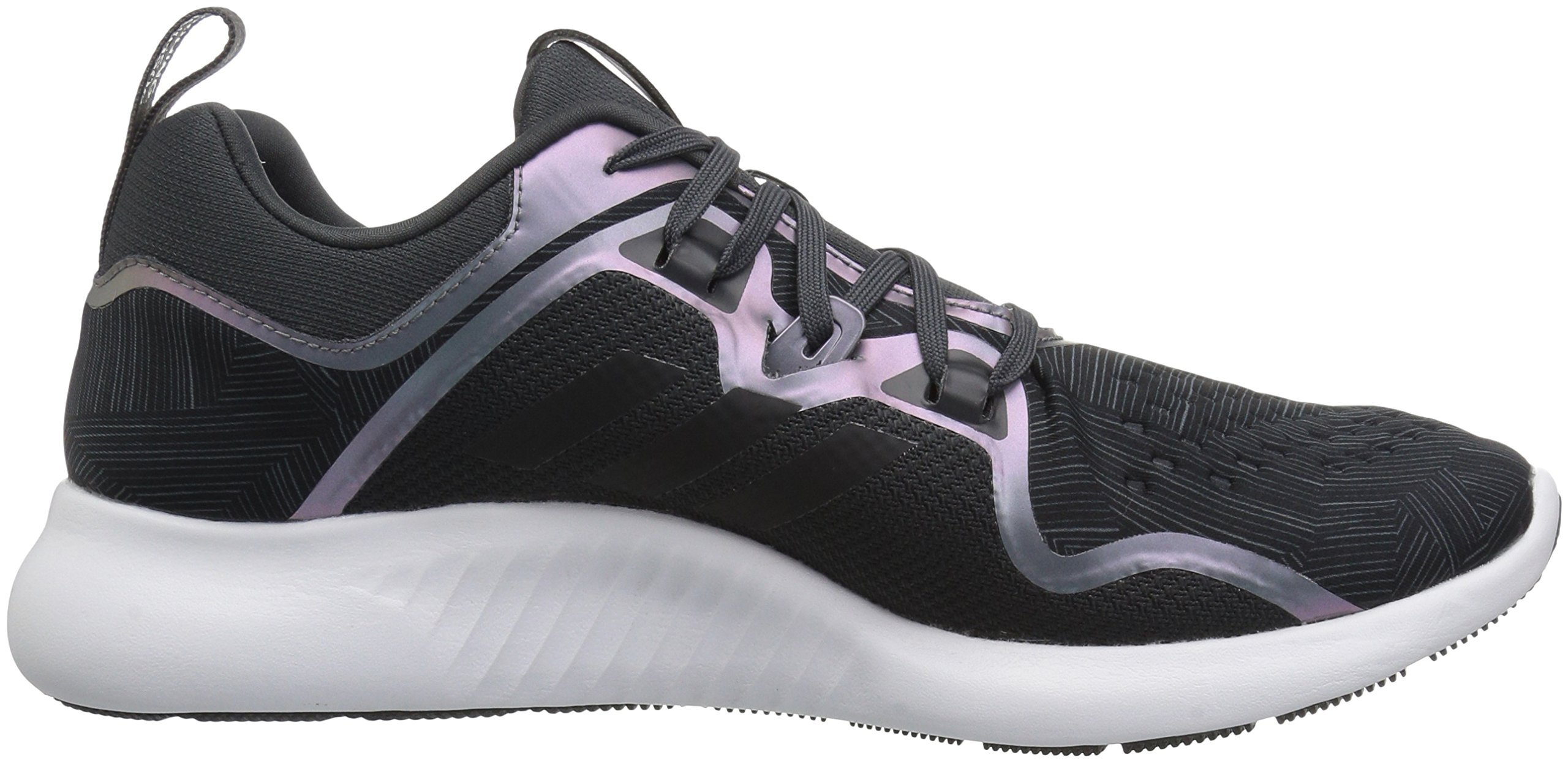 adidas Women's EdgeBounce Running Shoe Carbon/Black/Night Metallic 5.5 M US by adidas (Image #6)