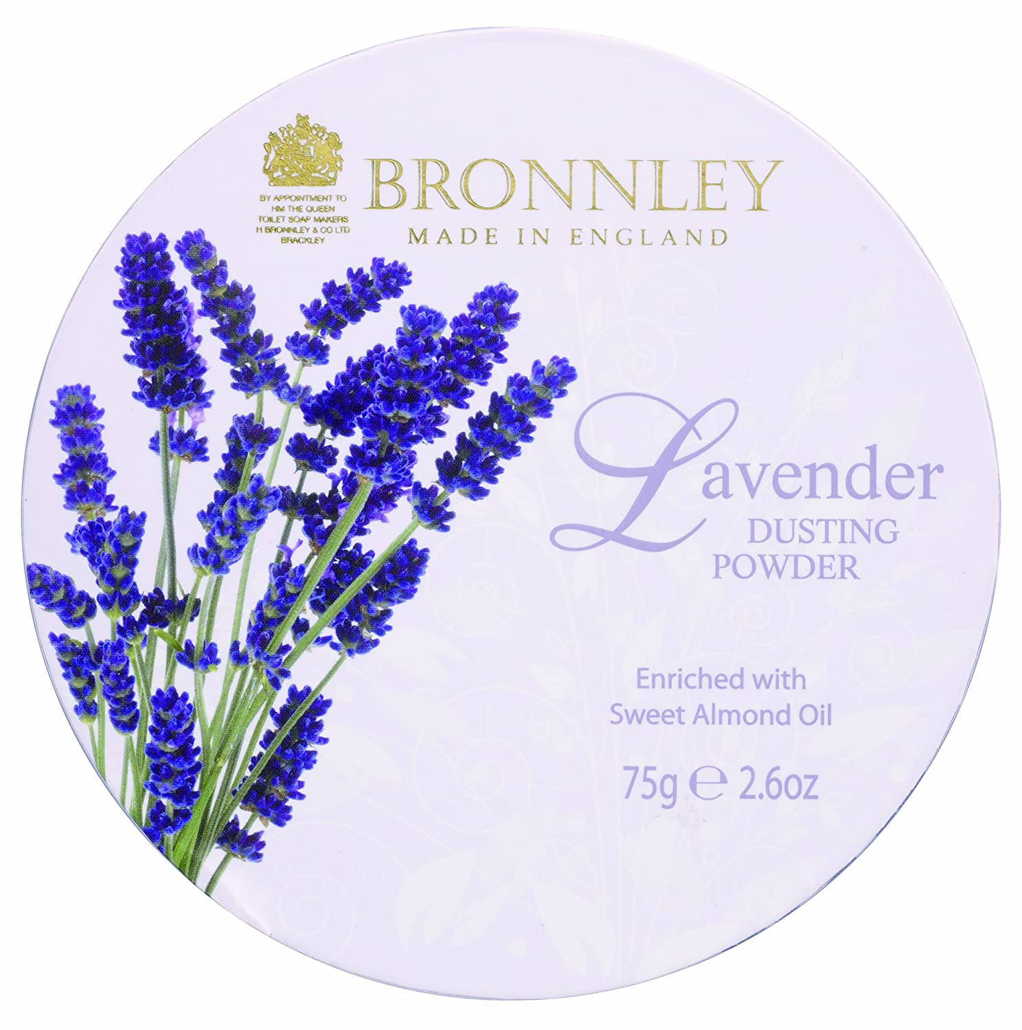 Bronnley Lavender Dusting Powder 75g H. Bronnley & Co. UK Ltd 112035