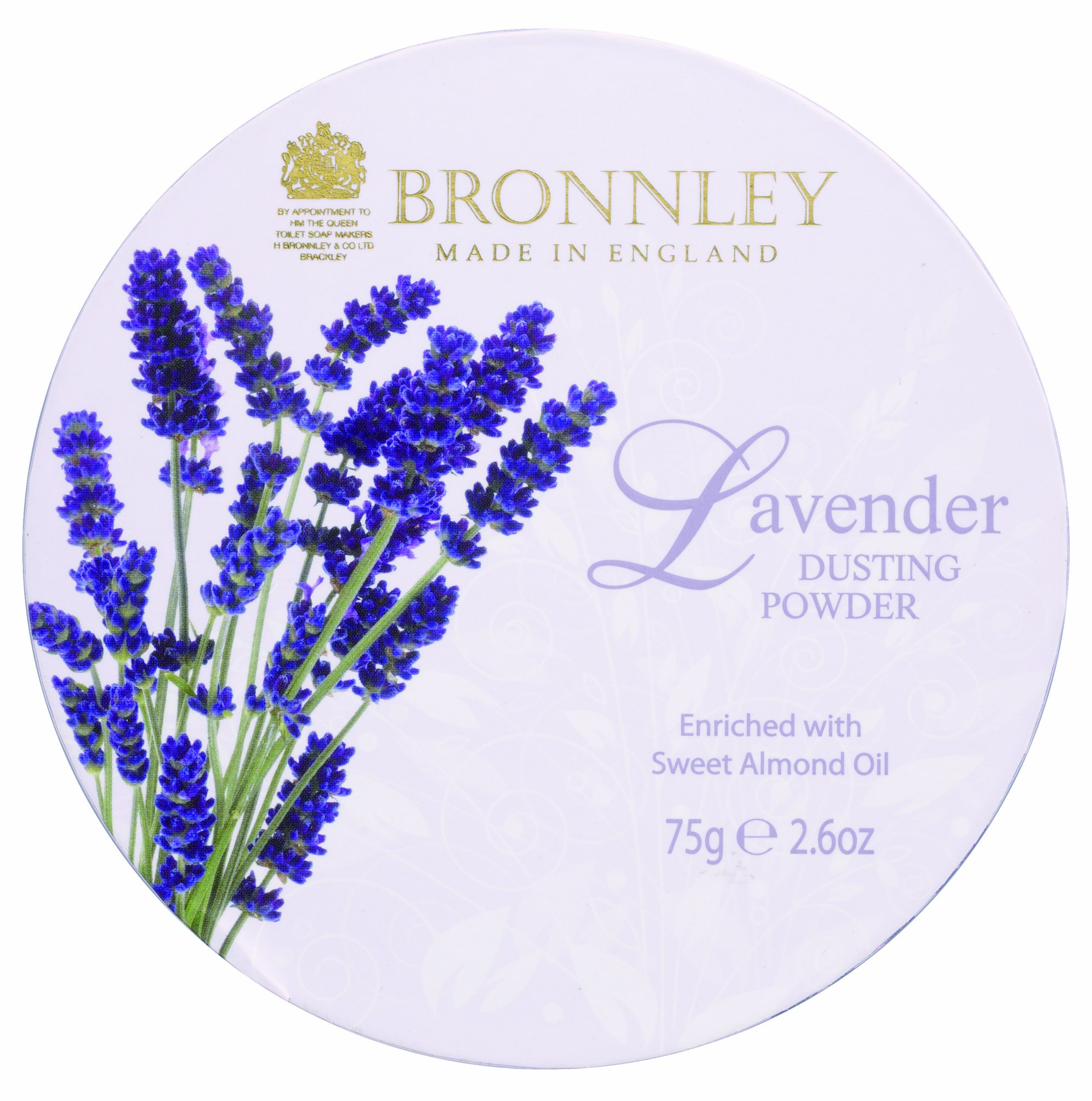 Bronnley England Dusting Powder for Women, Lavender, 2.6 Ounce